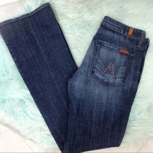 "7 For All Mankind ""A"" Pocket Bootcut Jean"